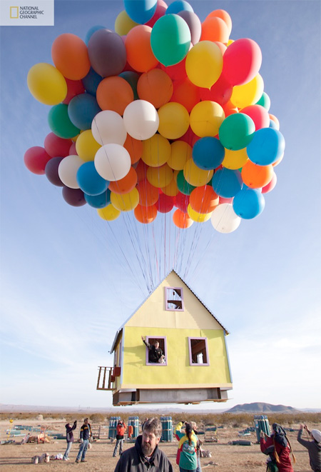 Up House in Real Life