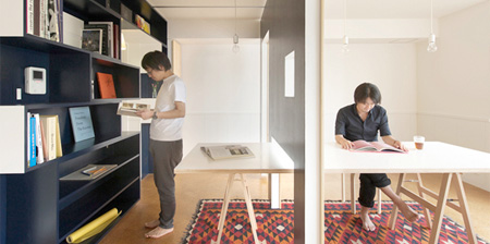 Apartment with Movable Walls