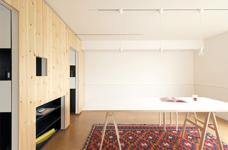 Apartment with Moving Walls
