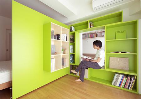Apartment with Sliding Walls