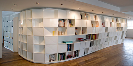 Bookshelf Apartment