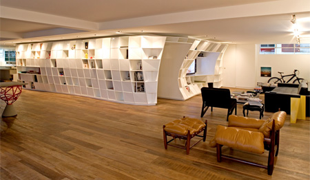 Bookcase Apartment