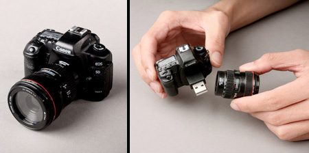 Camera Inspired USB Flash Drives