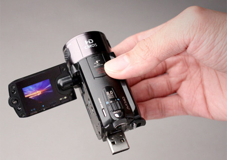 Camera Inspired Flash Drive