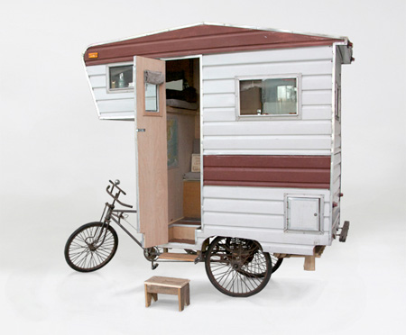 Pedal Powered Camper