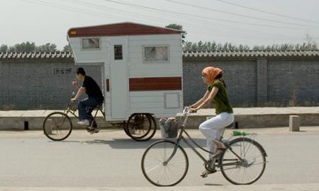 Camper Bicycle by Kevin Cyr