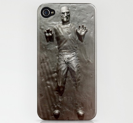 Steve Jobs in Carbonite iPhone Case