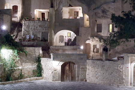 Hotel in a Cave