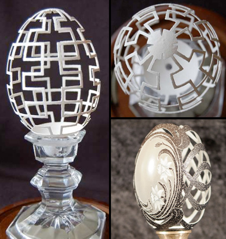 Eggshell Carvings