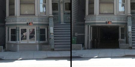 Hidden Garage in San Francisco