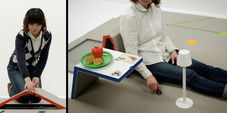 Floor Transforms into Furniture
