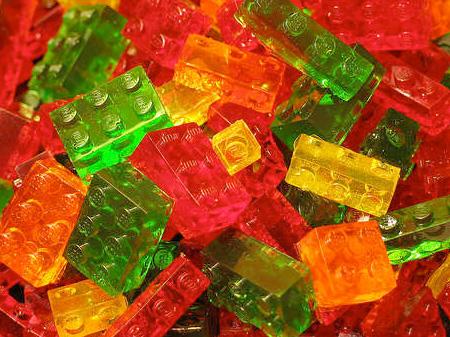 LEGO Gummi Candy