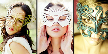 Beautiful Leather Masks