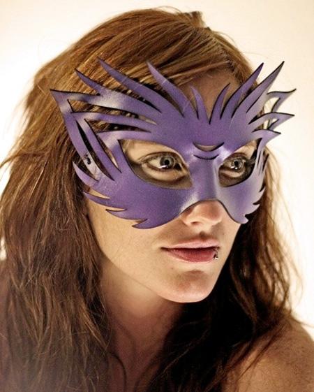 Stylish Leather Mask