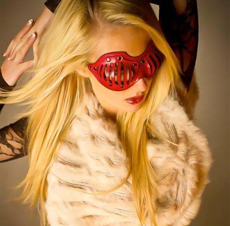 Modern Leather Mask