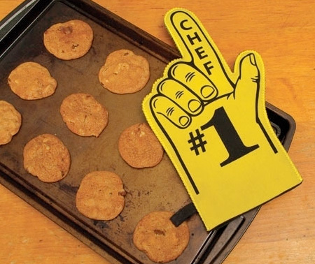 Number One Chef Oven Mitt