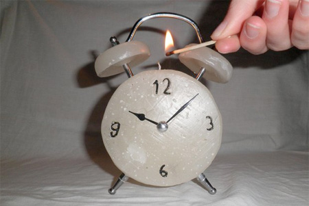 Candle Alarm Clock