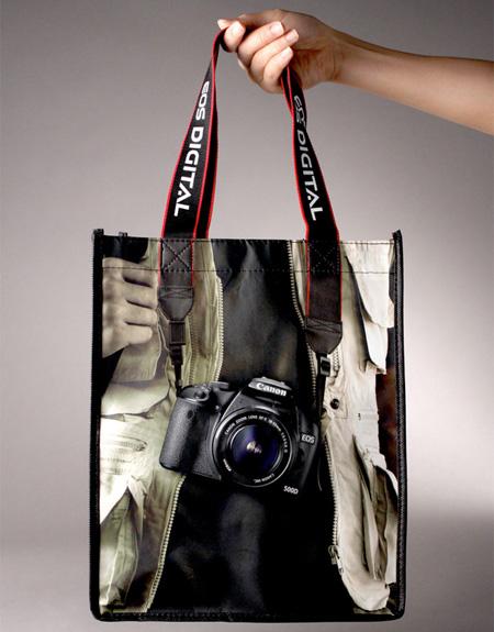 Le sac appareil photo