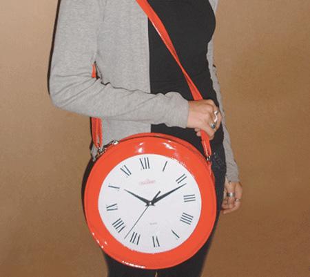 Le sac horloge