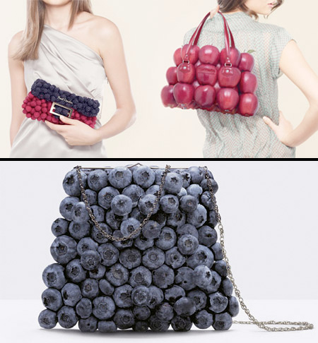 Le sac à main fruits