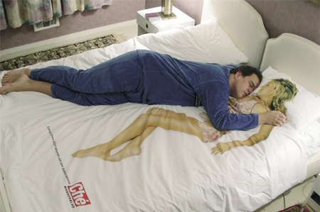 Never Sleep Alone Bed Sheets