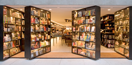 Unique Bookstore in Sao Paulo