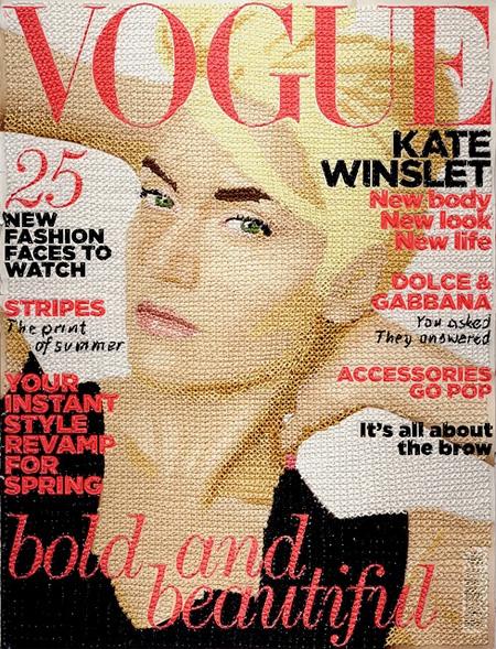 Hand Stitched Vogue