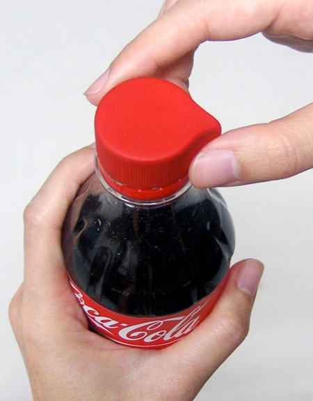 Easy Access Bottle Cap