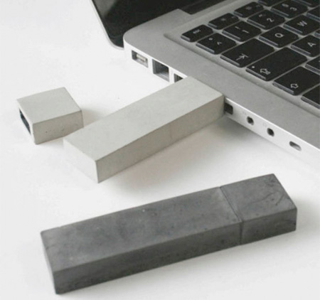 Concrete USB Flash Drive