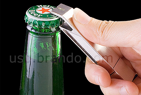 Bottle Opener USB Flash Drive