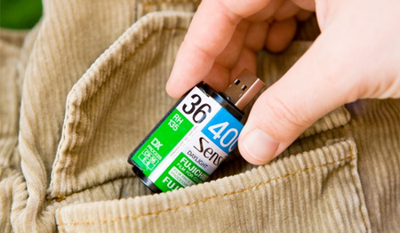 Film Roll USB Flash Drive