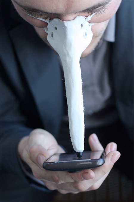 Stylus for your Nose