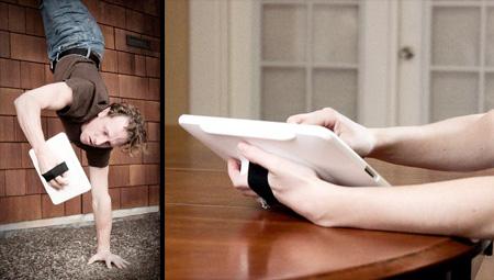iPad HandStand