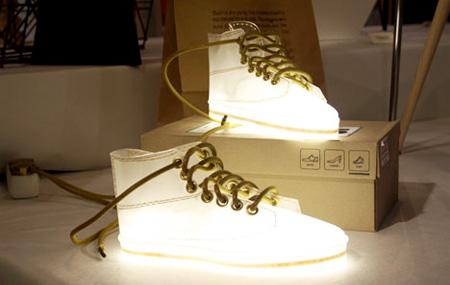 Shoe Lamp