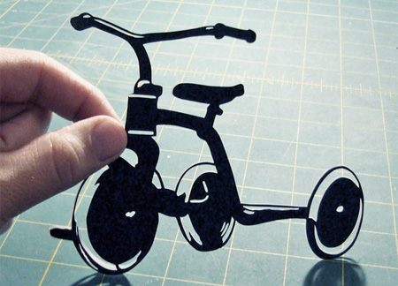 Paper Tricycle