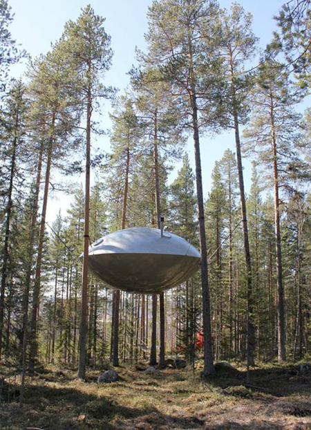 UFO Tree House