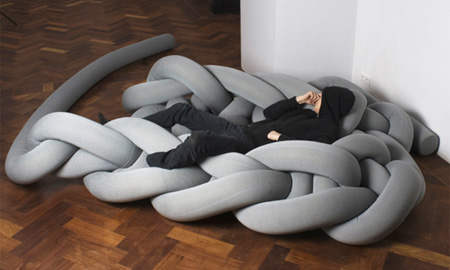 Knitted Bed