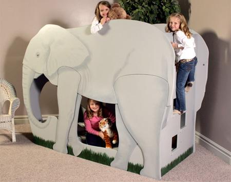 Elephant Bed