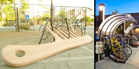 Cool and Unusual Bike Racks