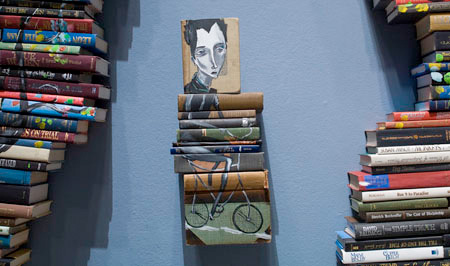 Painting on Books