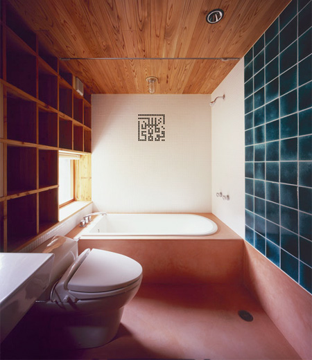 Bookshelf Bathroom