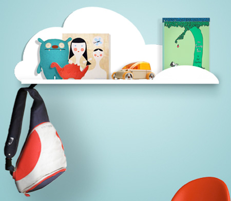 Cloud Bookshelf