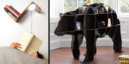 Cool and Unusual Bookshelves