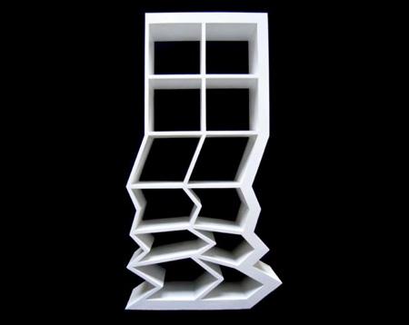 Collapsing Bookshelf