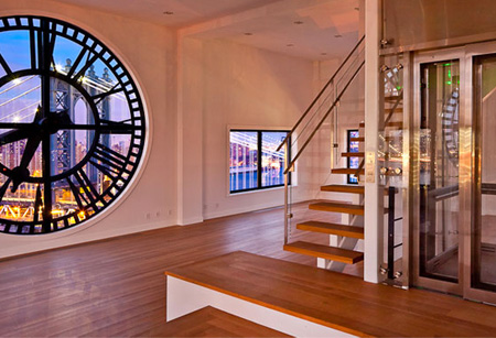 Clock Tower Interior
