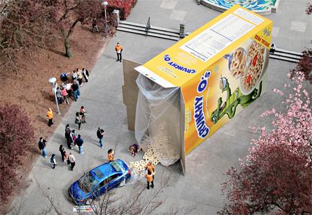Honda Cereal Box