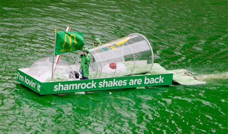 McDonalds Shake Boat