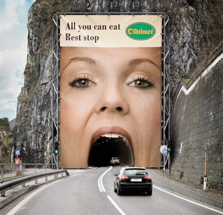 Oldtimer Restaurants Tunnel