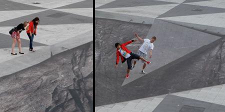 Mind Your Step 3D Illusion