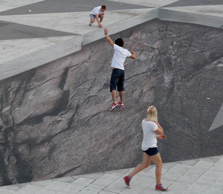 Pavement Illusion